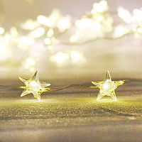 Manor Lane 10-ft. LED Star Shimmer String Lights