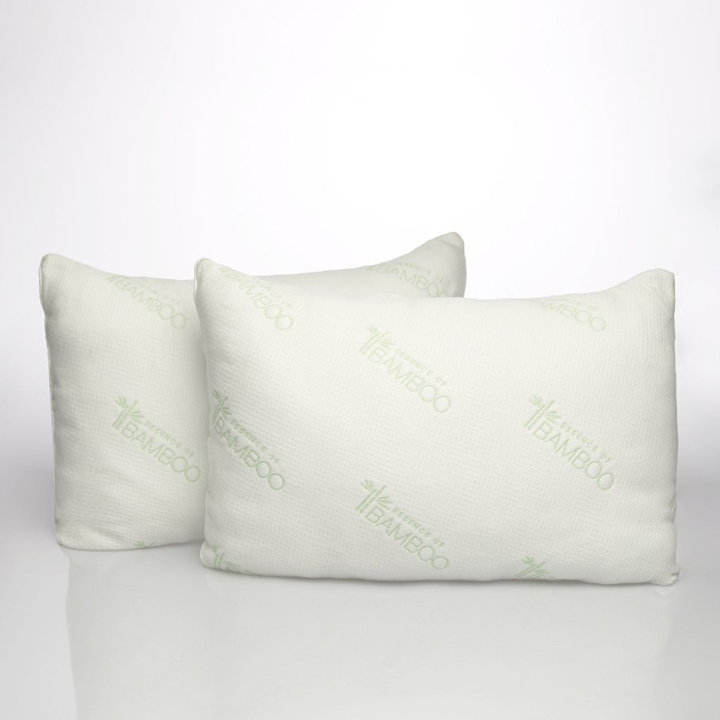 Essence of Bamboo 2-pack 300 Thread Count Natural Latex Plus Pillow