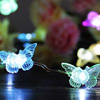 Manor Lane 10-ft. LED Butterfly Shimmer String Lights