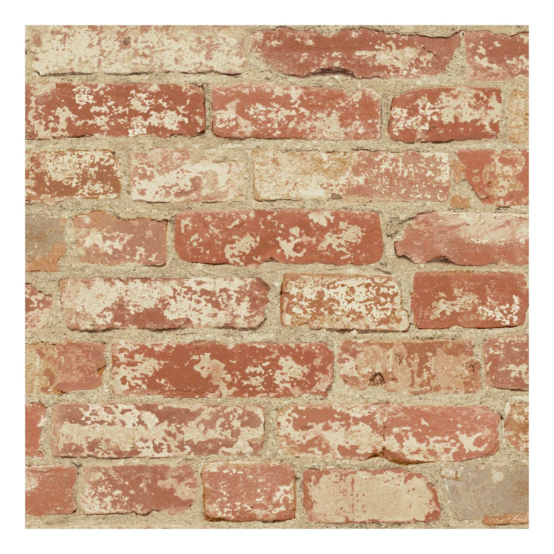 Roommates Faux Brick Peel U0026 Stick Wallpaper Wall Decal