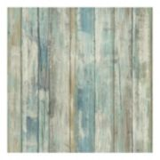 Roommates Faux Distressed Wood Peel & Stick Wallpaper Wall Decal