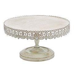 Rustic Elegance Pedestal Stand