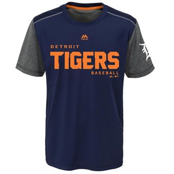 Boys 8-20 Majestic Detroit Tigers Club Series Cool Base Tee