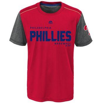 Boys 8-20 Majestic Philadelphia Phillies Club Series Cool Base Tee