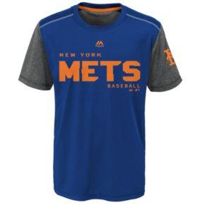 Boys 8-20 Majestic New York Mets Club Series Cool Base Tee
