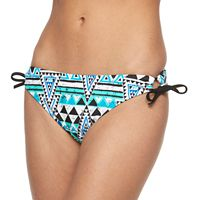 Mix and Match Side-Tie Scoop Bikini Bottoms