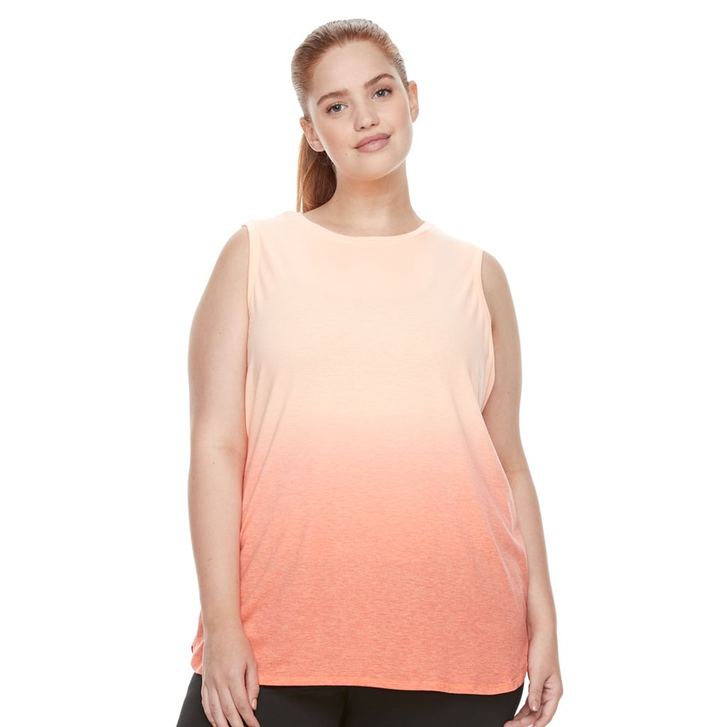 Plus Size Tek Gear® Performance Easy Tank