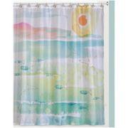 Creative Bath By The Sea Shower Curtain