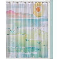 Creative Bath By The Sea Shower Curtain