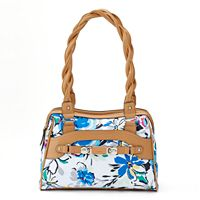 Rosetti Twist It Up Double-Zip Satchel