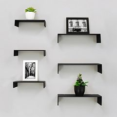 Kiera Grace Wall Shelf 6 pc Set