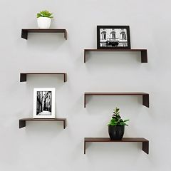 Kiera Grace Wall Shelf 6-piece Set