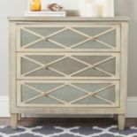 Safavieh Two-Tone 3-Drawer Dresser