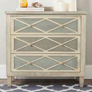 Safavieh Two-Tone 3-Drawer Dresser