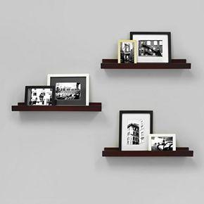 Kiera Grace Edge Wall Ledge Shelf 3-piece Set