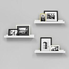 Kiera Grace Edge Wall Ledge Shelf 4-piece Set