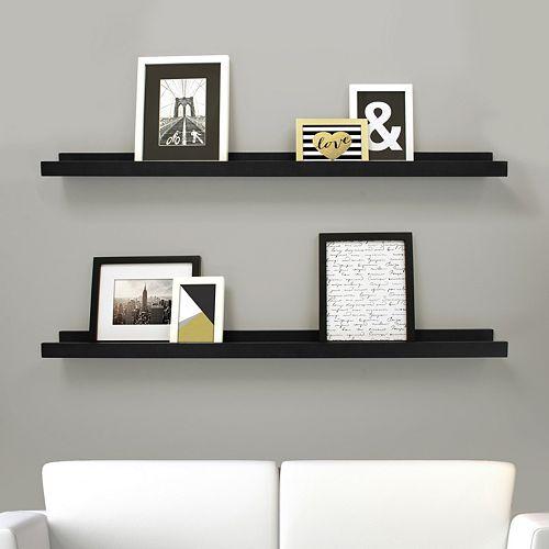 e9568f6fc7 Kiera Grace Edge Wall Ledge Shelf 2-piece Set