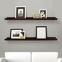 Kiera Grace Edge Wall Ledge Shelf 2-piece Set