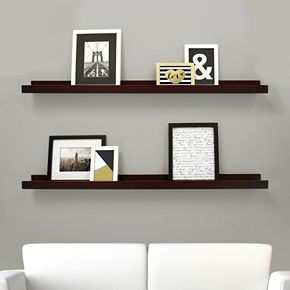 Kiera Grace Edge Wall Ledge Shelf 2-piece Set
