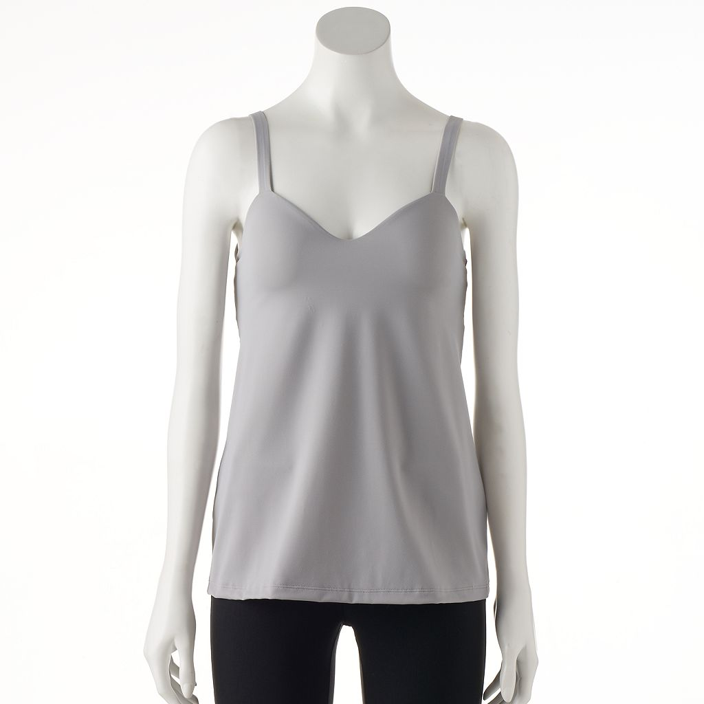 Naomi & Nicole No Side Show Two-Layer Tummy Shaping Camisole 7506
