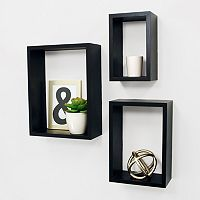 Kiera Grace Nesting Wall Shelf 3-piece Set