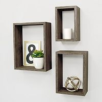 Kiera Grace Nesting Wall Shelf 3 pc Set