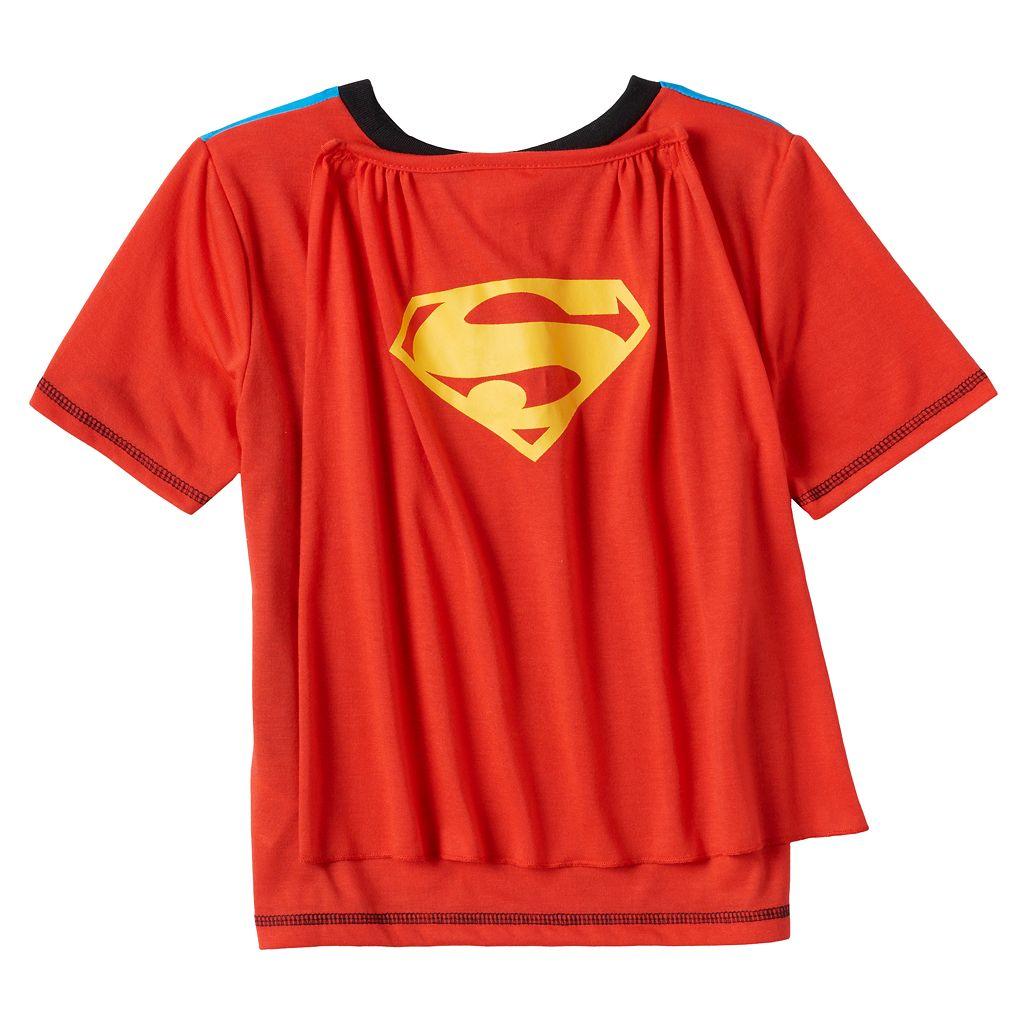 Boys 4-12 DC Comics Superman 2-Piece Pajama Set