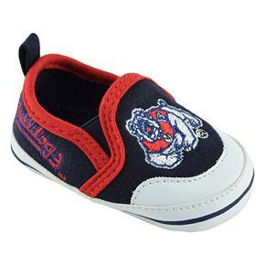 Baby Fresno State Bulldogs Crib Shoes