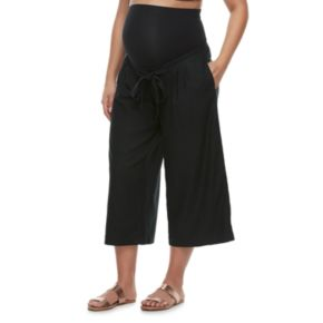 Maternity a:glow Belly Panel Wide-Leg Culottes