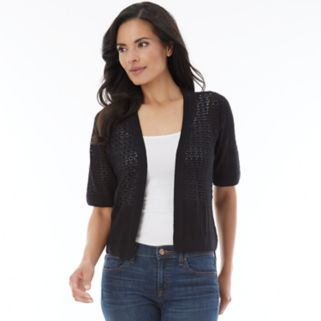 Women's AB Studio Pointelle Shrug
