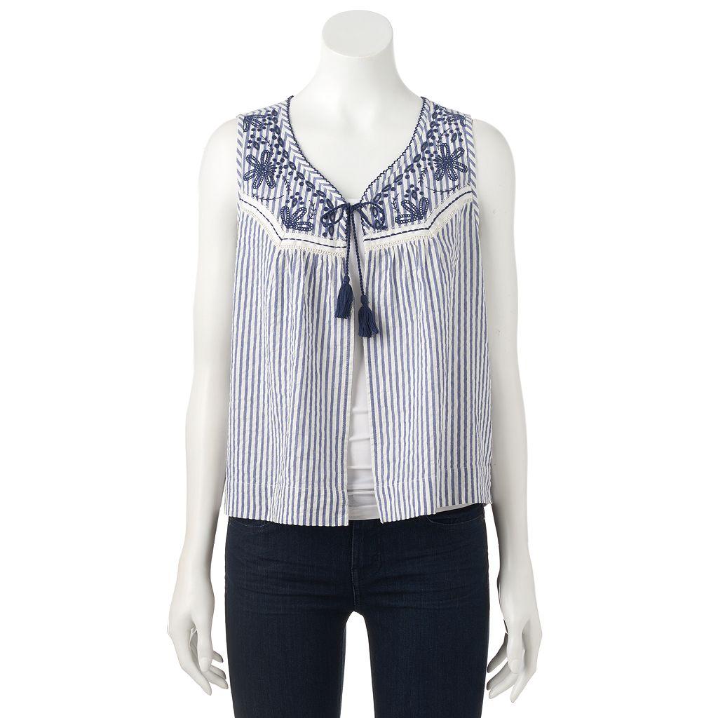 Women's SONOMA Goods for Life™ Seersucker Vest
