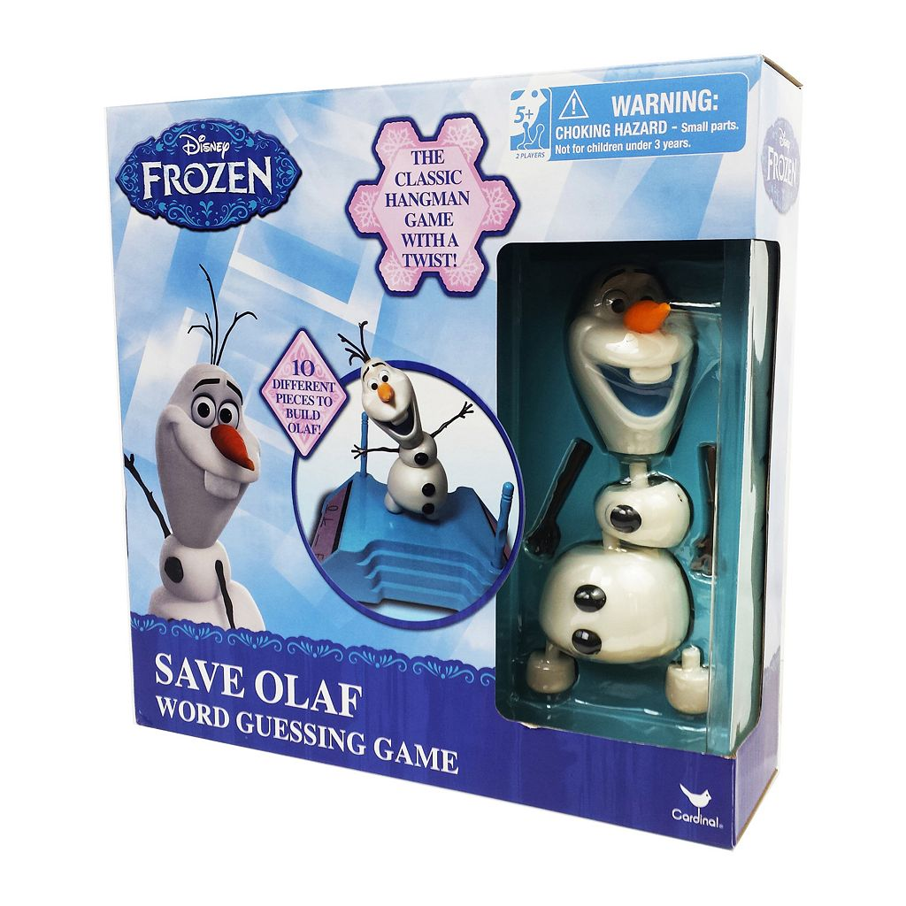 Disney's Frozen Save Olaf Word Guessing Game by Cardinal