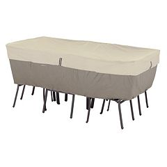 Belltown Medium Rectangular or Oval Patio Table & Chairs Cover