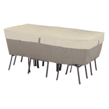Belltown Large Rectangular or Oval Patio Table & Chairs Cover
