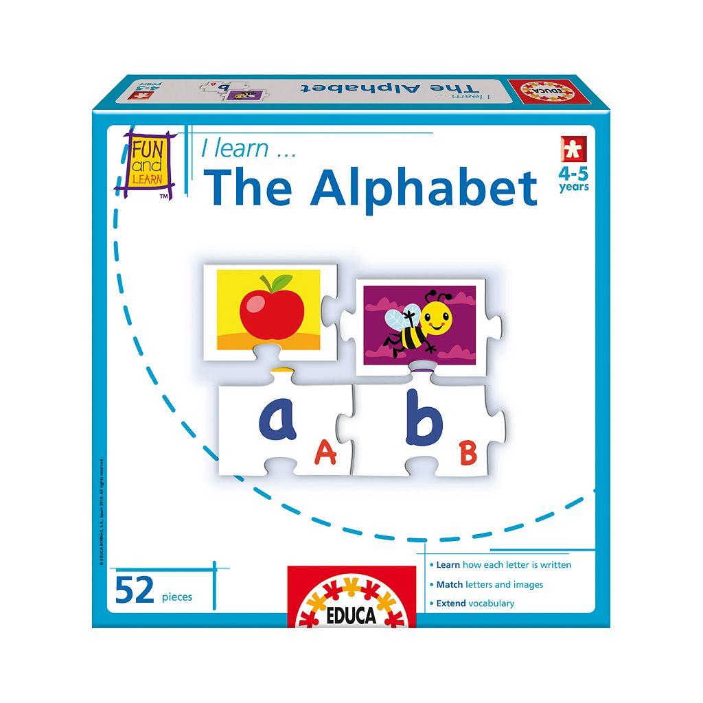 I Learn... The Alphabet by Educa