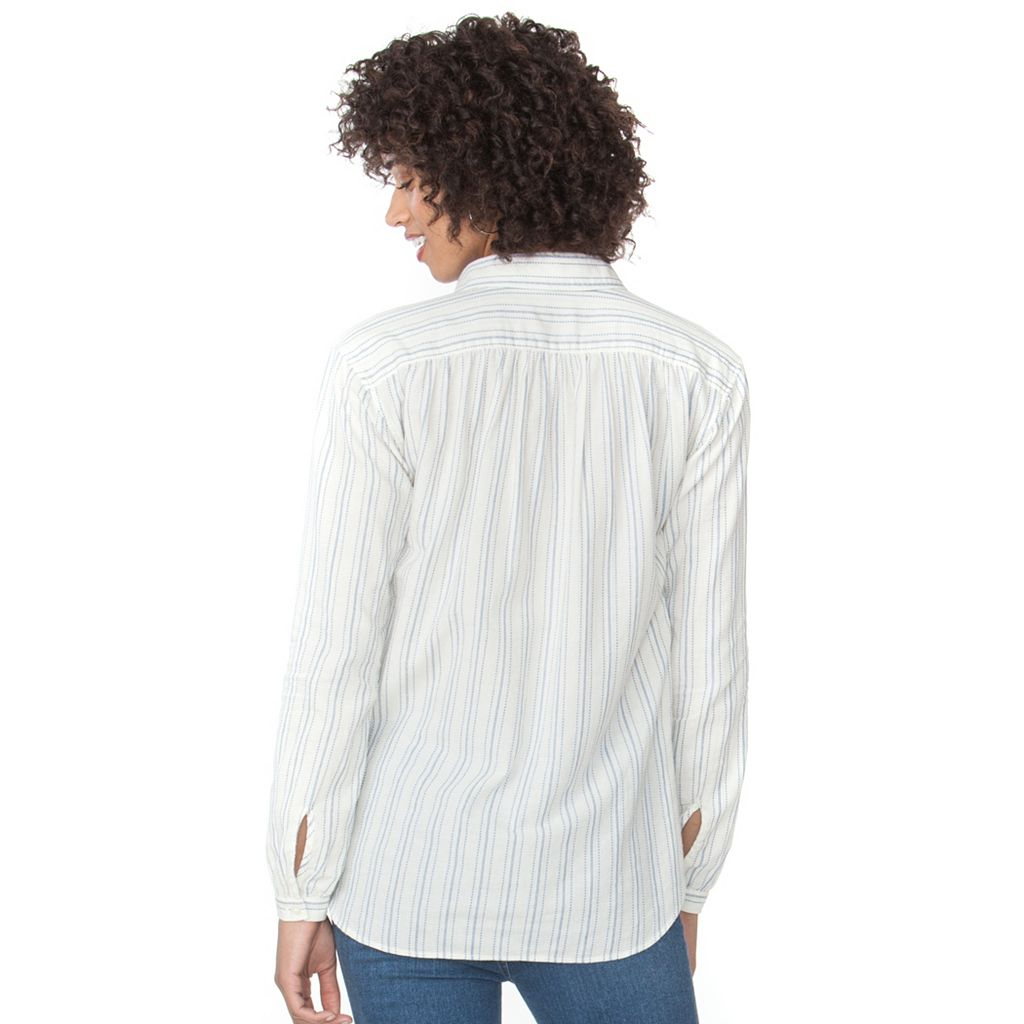 Women's Chaps Striped Shirt