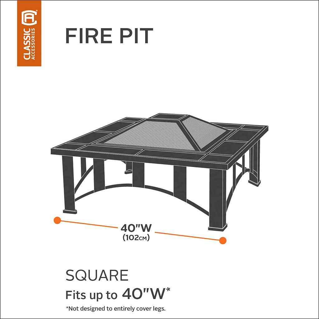 Belltown Square Fire Pit Cover