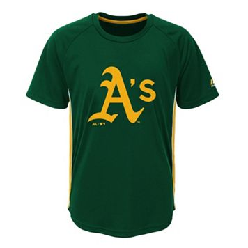 Boys 8-20 Majestic Oakland Athletics Champ Tee