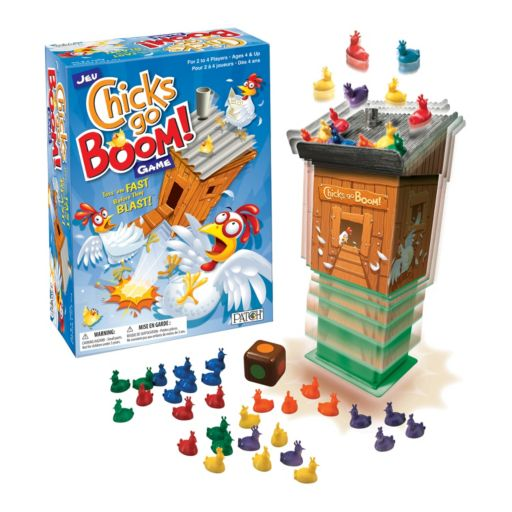 Chicks Go Boom! Game by Patch Products