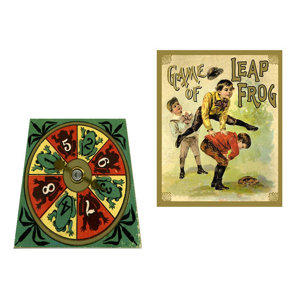 The Game of Leap Frog by Perisphere & Trylon