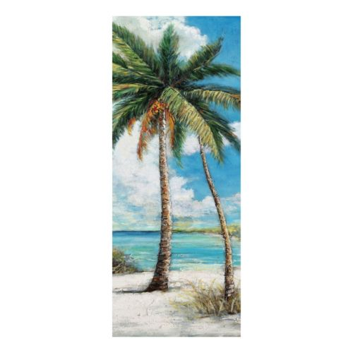 Holiday Panel A Palm Trees Canvas Wall Art