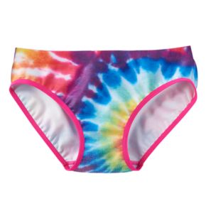Girls 6-16 Maidenform Tie-Dyed Seamless Hipster Panties