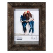 Malden Distressed Bronze Finish Frame