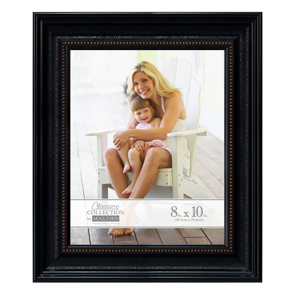 Malden Black & Bronze Finish Frame