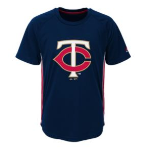 Boys 8-20 Majestic Minnesota Twins Champ Tee
