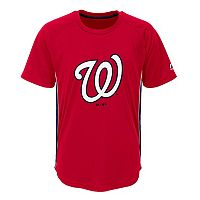 Boys 8-20 Majestic Washington Nationals Champ Tee