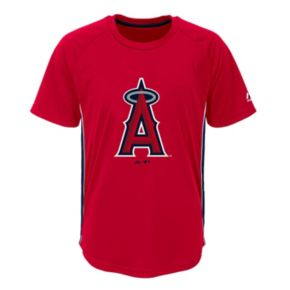 Boys 8-20 Majestic Los Angeles Angels of Anaheim Champ Tee