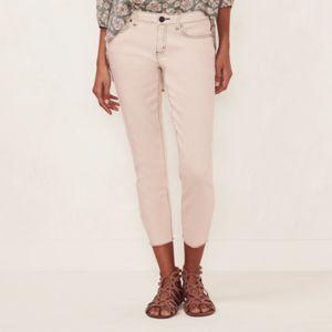 Women's LC Lauren Conrad Contrast Crop Skinny Jeans