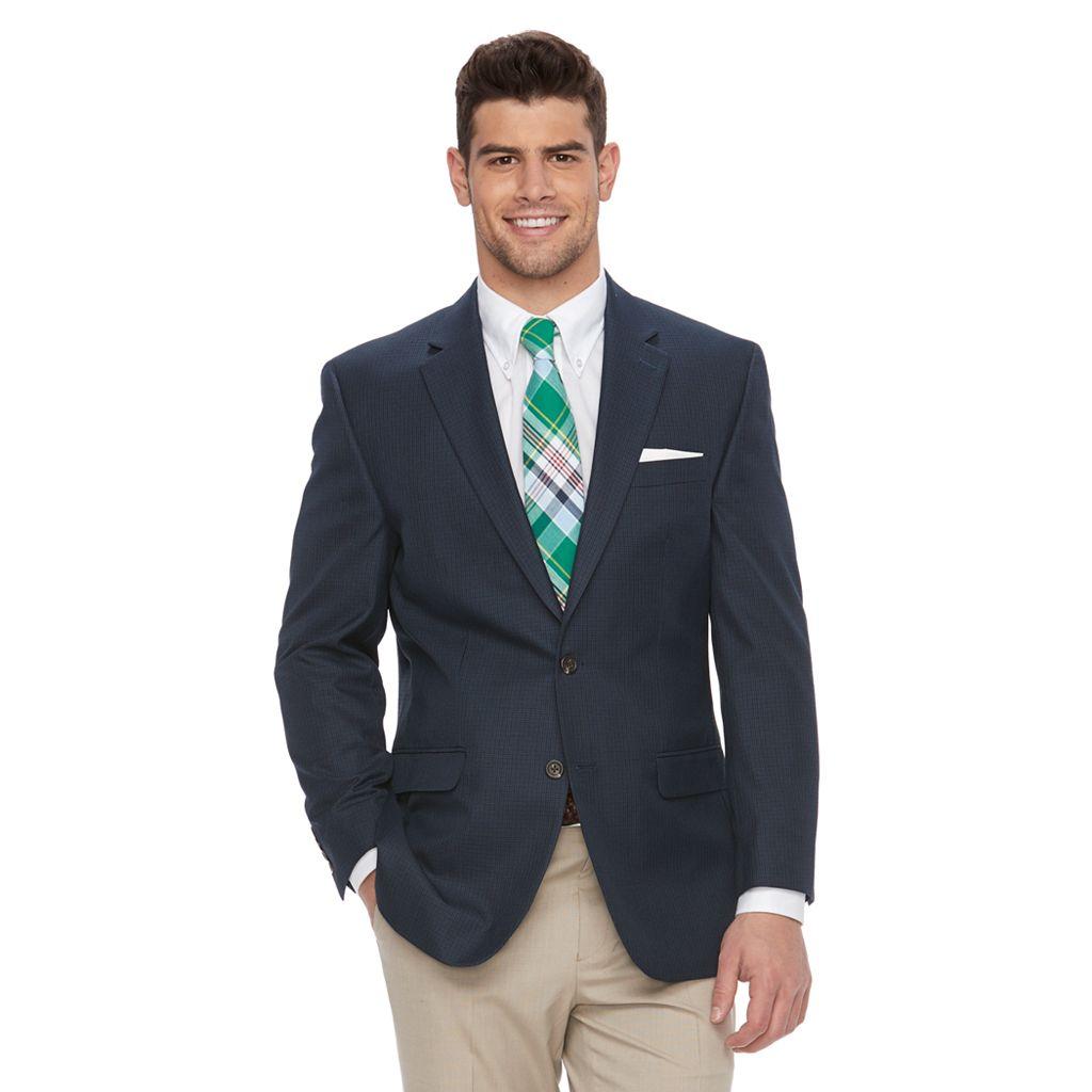 Big & Tall Chaps Pattern Classic-Fit Sport Coat