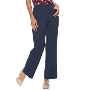 Women's ELLE? Wide-Leg Trouser Pants